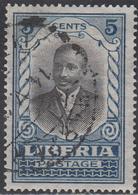 LIBERIA    SCOTT NO. 184     USED      YEAR 1921 - Liberia