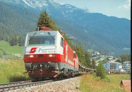 Elektro -  Lokomotiven 1822 003-8 +1044 086-5 - Trains