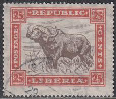 LIBERIA    SCOTT NO. 221     USED      YEAR 1923 - Liberia