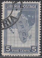 LIBERIA    SCOTT NO. 233     USED      YEAR 1928 - Liberia
