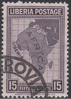 LIBERIA    SCOTT NO. 235     USED      YEAR 1928 - Liberia