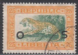 LIBERIA    SCOTT NO. 0120    USED      YEAR 1921 - Liberia