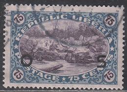 LIBERIA    SCOTT NO. 0123    USED      YEAR 1921 - Liberia