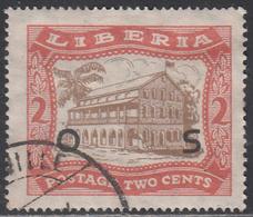 LIBERIA    SCOTT NO. 0142    USED      YEAR 1923 - Liberia