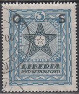 LIBERIA    SCOTT NO. 0143    USED      YEAR 1923 - Liberia