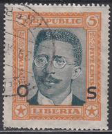 LIBERIA    SCOTT NO. 0144    USED      YEAR 1923 - Liberia