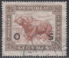 LIBERIA    SCOTT NO. 0148    USED      YEAR 1923 - Liberia