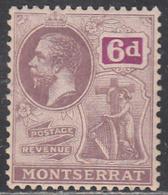 MONTSERRAT    SCOTT NO. 68      MNH       YEAR 1922     WMK-4 - Montserrat