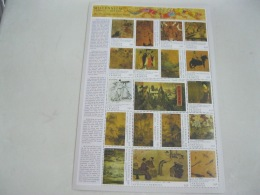 Dominica Millennium Chinese Painting Sheet - Dominica (1978-...)
