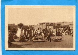 MALI-tombouctou-le Marché Animé - Années 1910-20-édition - Mali