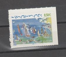 FRANCE / 2004 / Y&T N° 3672 ** Ou AA 42 ** : Europa (Vacances) Adhésif - état D'origine - France