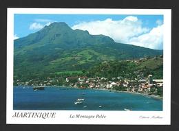 Martinique La Montagne Pelée Carte Postale - Martinique