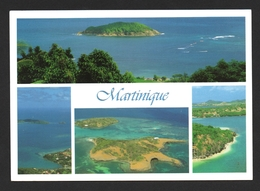 Martinique Multivues Carte Postale - Martinique
