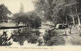 PONT AVEN  Les Bords De L'Aven Au Bois D'Amour Enfants RV - Pont Aven