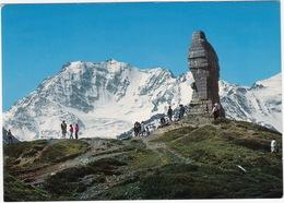 Der Adler Auf Dem Simplonpass. Denkmal An Grenzwacht 1939-1945 - Fletschhorn 3996 M. - (Suisse/Schweiz/CH)) - VS Wallis