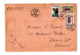 Cote D'Ivoire - Affranchissement-1963- Voir état - Côte D'Ivoire (1960-...)
