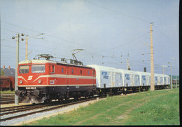 Serie 5001 A 5045 -- 150 Aniversario Del Ferrocarril En Austria  -- 5005 - Trenes