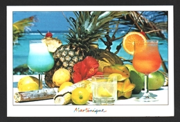 Martinique Fruits Tropicaux Carte Postale - Martinique