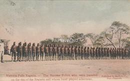 Rhodesia  VICTORIA Regatta Barrotse Police On Parade    Rh260 - Zimbabwe