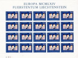 Liechtenstein, Kleinbogen Nr. 444**(K 3333) - Blocs & Feuillets
