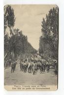 Iran / Persia - Taur S, L'armée Russe En Perse - Une Fête Au Jardin Du Gouvernement - Iran