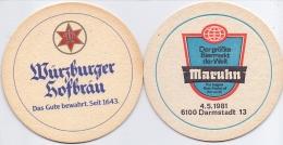#D218-012 Viltje Würzburger - Sous-bocks