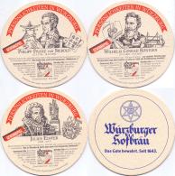 #D218-038 Reeks Viltjes Würzburger - Sous-bocks