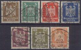 DEUTSCHES REICH 1924 Mi-Nr. 355/61 O Used - Germany