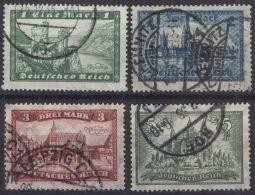 DEUTSCHES REICH 1924 Mi-Nr. 364/67 O Used - Germany