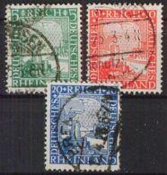 DEUTSCHES REICH 1925 Mi-Nr. 372/74 O Used - Germany