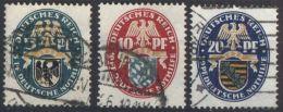 DEUTSCHES REICH 1925 Mi-Nr. 375/77 O Used - Germany