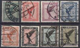 DEUTSCHES REICH 1926 Mi-Nr. 378/84 O Used - Germany