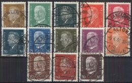 DEUTSCHES REICH 1928 Mi-Nr. 410/22 O Used - Germany