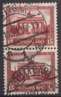 DEUTSCHES REICH 1930 Mi-Nr. 451 Senkrechtes Paar O Used - Germany
