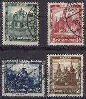 DEUTSCHES REICH 1931 Mi-Nr. 459/62 O Used - Germany
