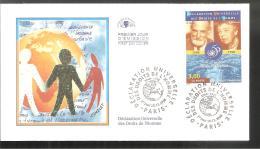 FDC  1998   Déclaration Universelle Des Droits De L Homme - FDC