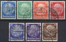 DEUTSCHES REICH 1932 Mi-Nr. 467/73 O Used - Germany