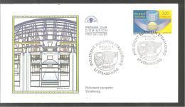 FDC  1998   Parlement Européen Strasbourg - FDC