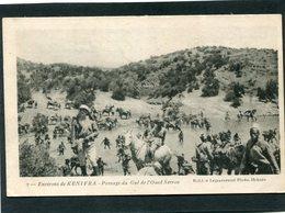 CPA - La Guerre Au Maroc - Env. De KENIFRA - Passage Du Gué De L'Oued Serrou, Très Animé - Maroc