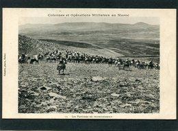 CPA - Colonnes Et Opérations Militaires Au Maroc - Les Partisans En Reconnaissance, Très Animé - Maroc