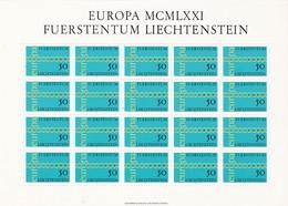 Liechtenstein, Kleinbogen Nr. 545** (K 3343) - Liechtenstein