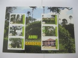 Ghana 2007 50th Anniversary Of Independence  Botanicial Garden  Sheet - Ghana (1957-...)