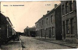 1 Oude Postkaart Lint  Linth  De Roetaardstraat   Velo-Club   1911  Uitg.  J. Sluyts - Lint