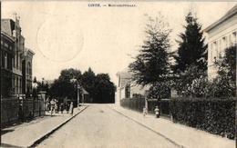 1 Oude Postkaart Lint  Linth    Roetaertstraat    Roetaardstraat    1920  Uitg.  Vanden Eynde - Lint
