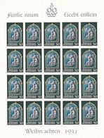 Liechtenstein, Kleinbogen Nr. 555** (K 3345) - Bloques & Hojas