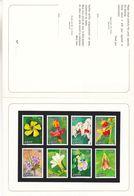Fleurs - Orchidées - Zaïre - COB 1231 / 6 De 1984 - Essai De Couleurs - Imprimeur Fournier - Zaïre