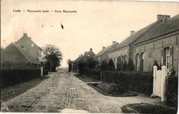 1 Oude Postkaart Lint  Linth    Reynaerts Hoek   1914  Uitg  .Massart   Lint - Lint
