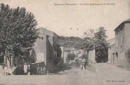 CPA  34 LAURENS LE PONT DE PIERRE ANIME - Unclassified