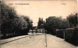 1 Oude Postkaart Lint  Linth    Roetaertstraat    Roetaardstraat    Uitg. J.Sluyts - Lint