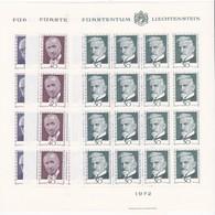 Liechtenstein, Kleinbogen Nr. 570/72** (K 3348) - Blocs & Feuillets